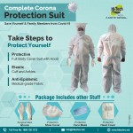 PPE Kit Full Body Coverall Suit 95 GSM