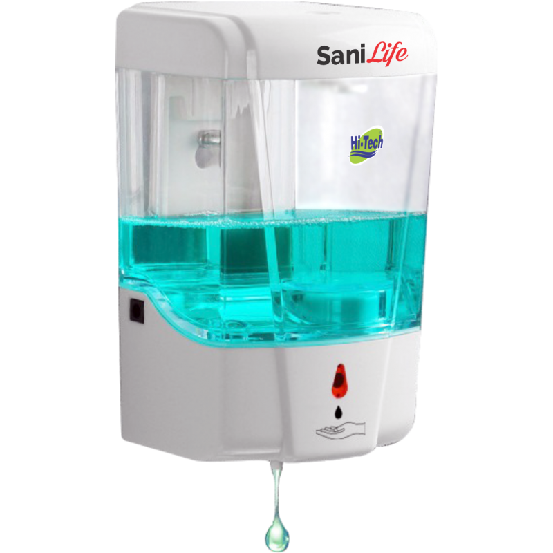 Hi-Tech SaniLife  Automatic Hands  Soap Liquid Dispenser 700ml