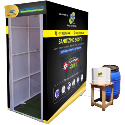 Sanitizing Booth -Automatic  - Sanitizing Booth switch-operated