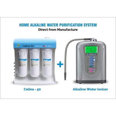 HI-TECH IONIZER AND CELINA - 50 - Domestic Water Purifiers