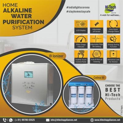 Hi-Tech Ionizer i9 and Celina -50 - Alkaline