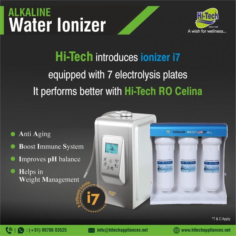 Hi-Tech Ionizer i7 and Celina -50