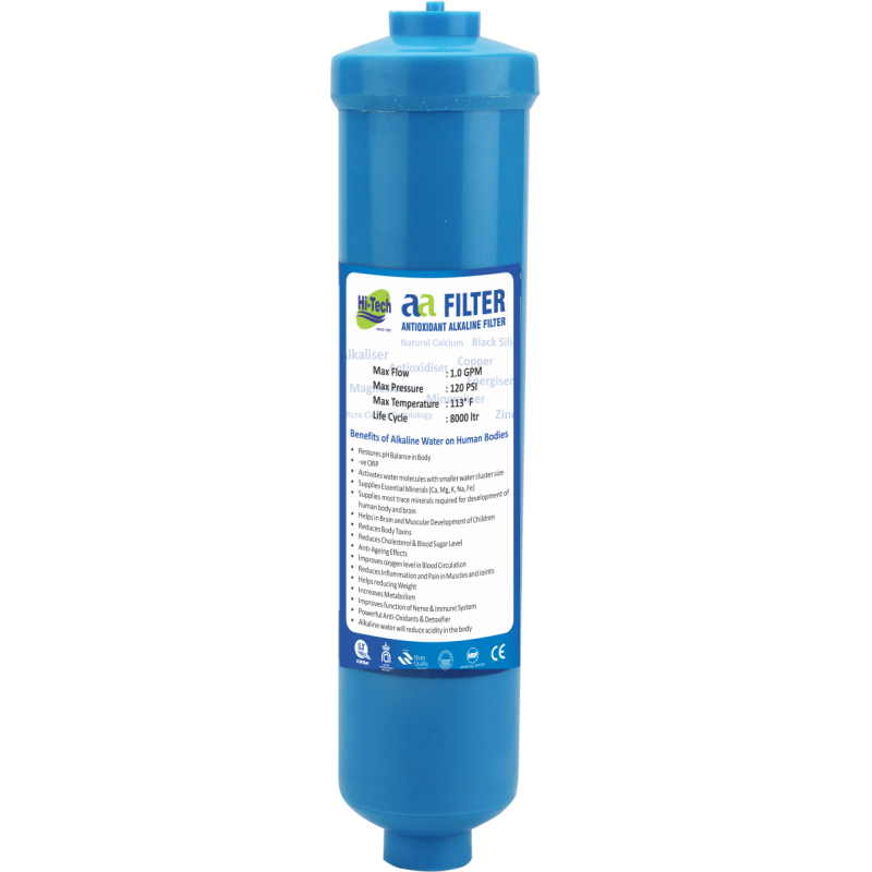 ALKALINE FILTER CARTRIDGE