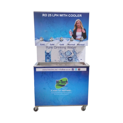 RO WITH COOLER 25 LPH - Industrial RO System