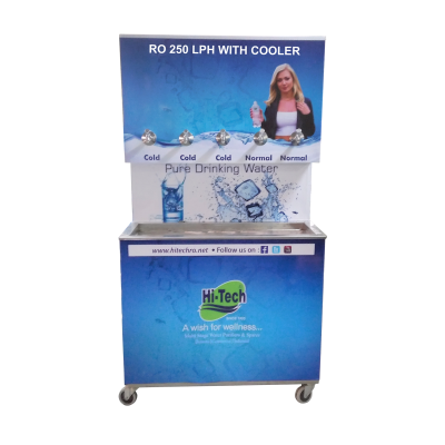 RO WITH COOLER 250LPH - Industrial RO System