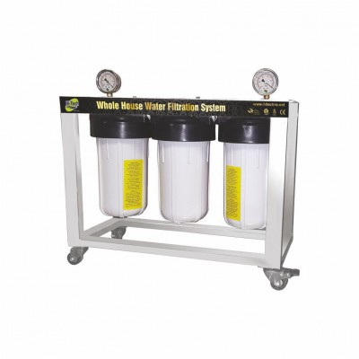 WHF 10-3 WHOLE HOUSE  WATER FILTRATION SYSTEM  - Industrial and Commercial Plants