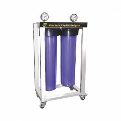 WHF 20-2 WHOLE HOUSE  WATER FILTRATION SYSTEM  - WHF 20-3 WHOLE HOUSE  WATER FILTRATION SYSTEM