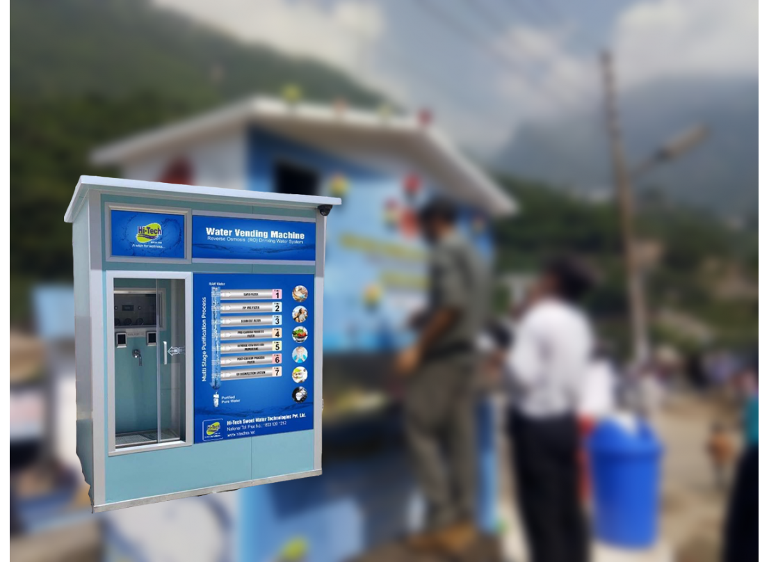 Industrial and Commercial Plants - Water Vending Machines