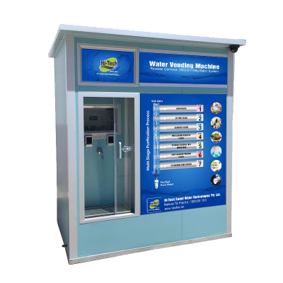 WATER VENDING MACHINE-(WATER ATM) - Industrial and Commercial Plants