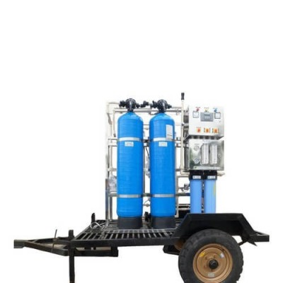 Mobile Ro Plant - Industrial Plants