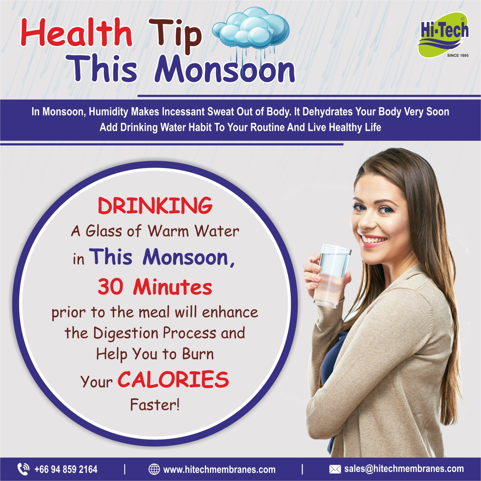 why you should drink RO purified water during monsoon