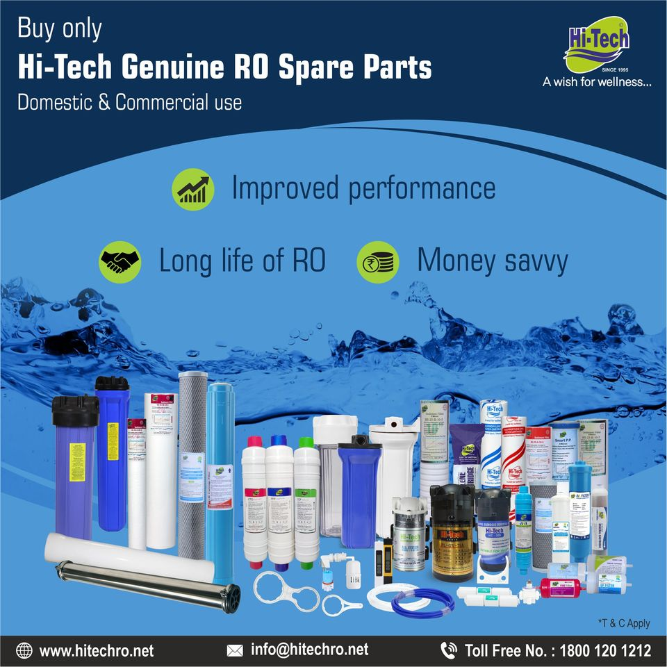 Importance of genuine and original RO spare part