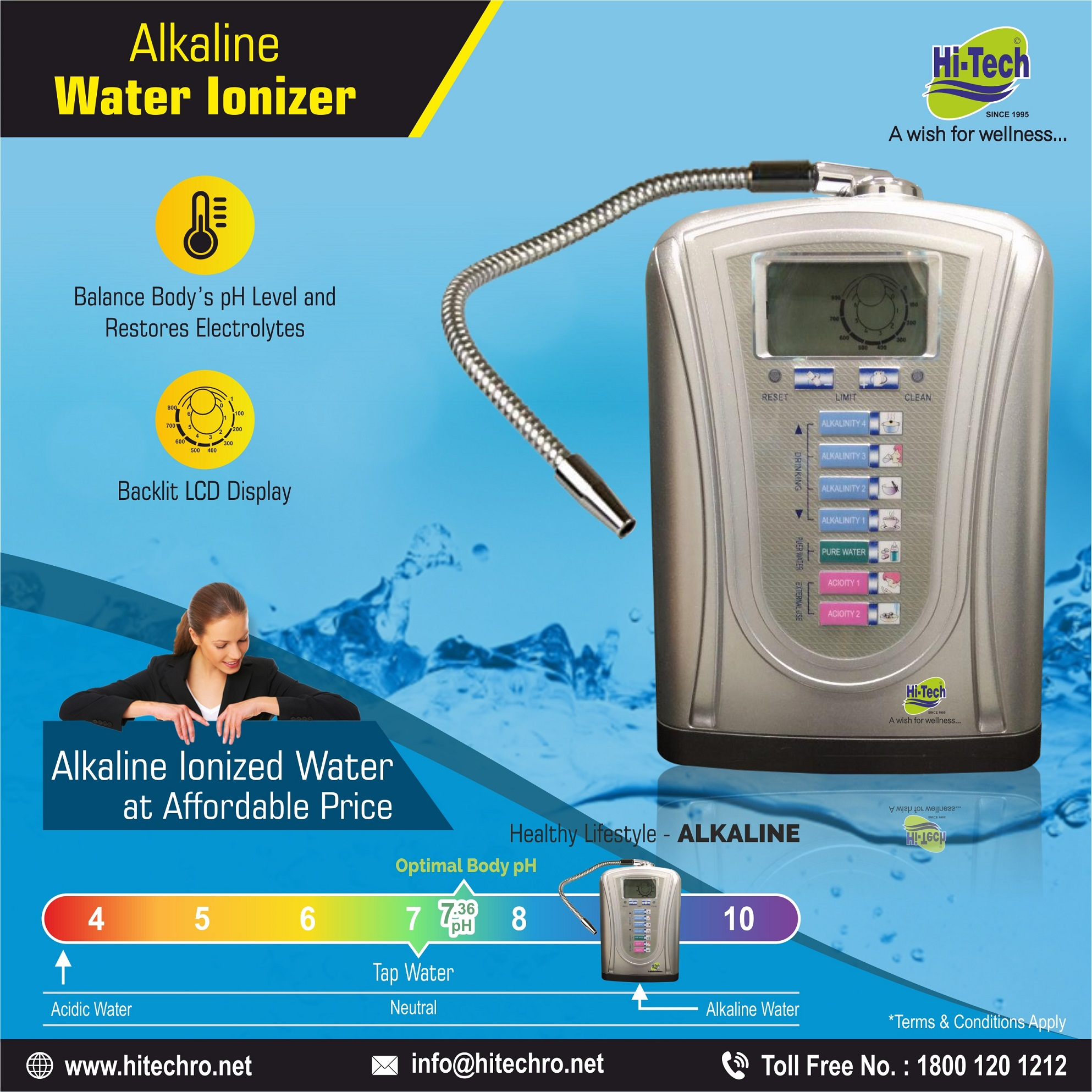 Alkaline Water: Health Benefits, Safety and possible side Effects