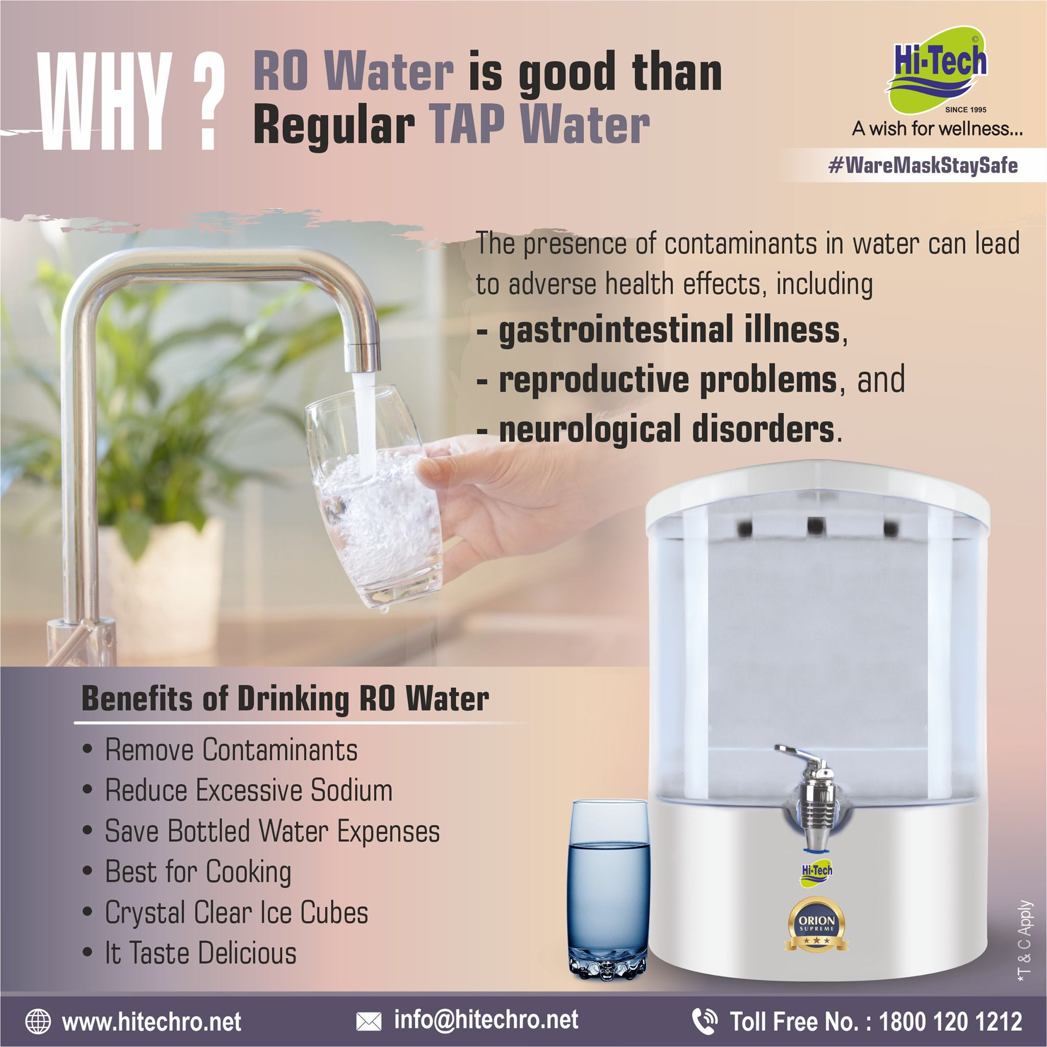 RO Water is Good for Health
