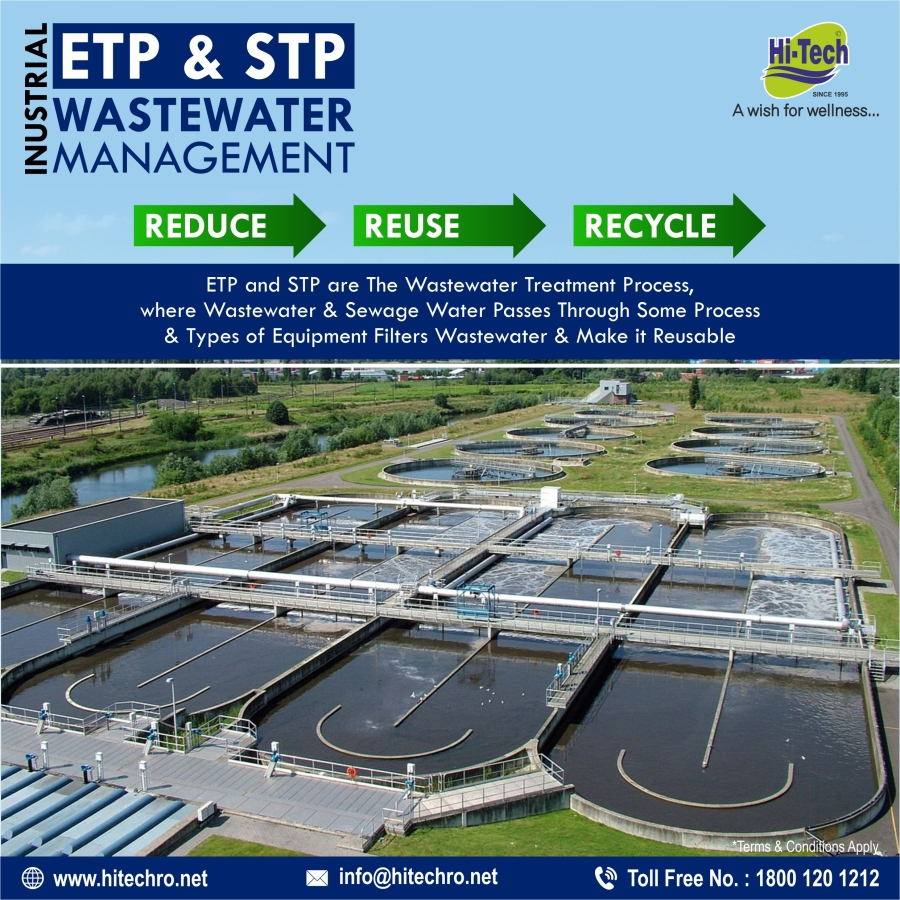 Waste Water Treatment ETP and STP processes