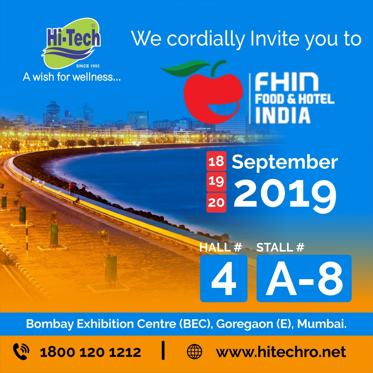 Food & Hotel India Expo 2019