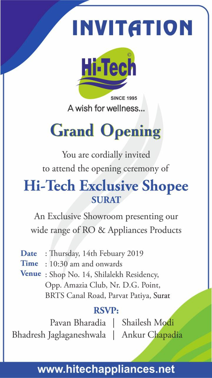 Hi-Tech Exclusive  Shoppe