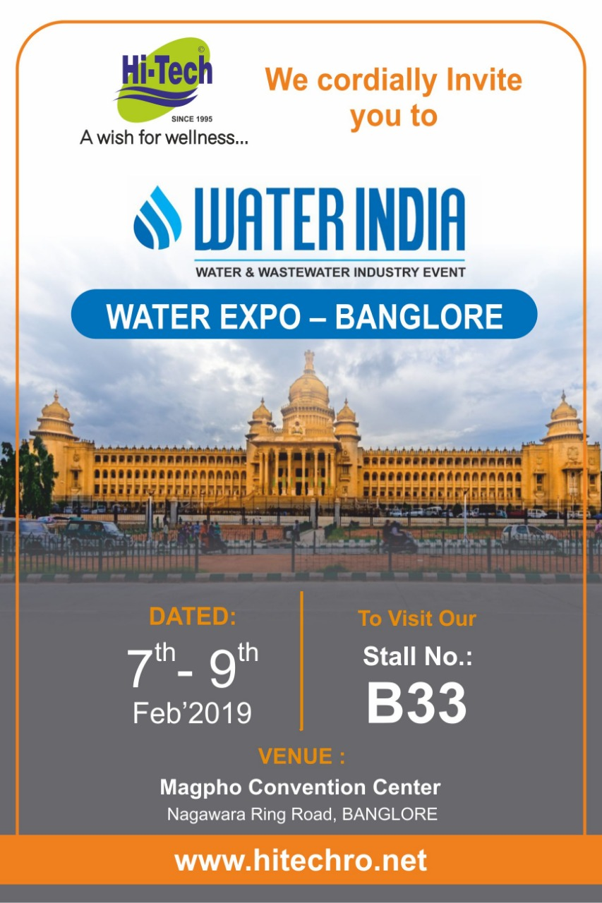 Water India Expo Bengaluru